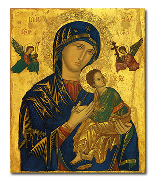В Україну з Рима прибуде освячена копія ікони Матері Божої Неустанної Помочі