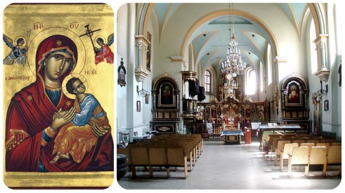 Розклад паломництва ікони Матері Божої Неустанної Помочі храмами Львова