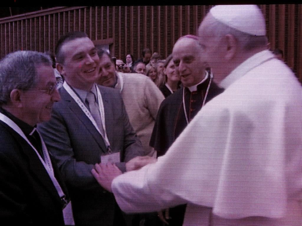 """Папа Франциск зустрівся з організаторами паломництв. Україну представляв """"Рафаїл"""""""