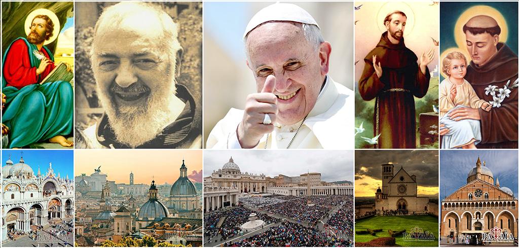 Зустріч з Падре Піо у Ватикані