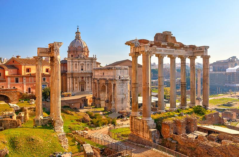 Рим з відпочинком на морі