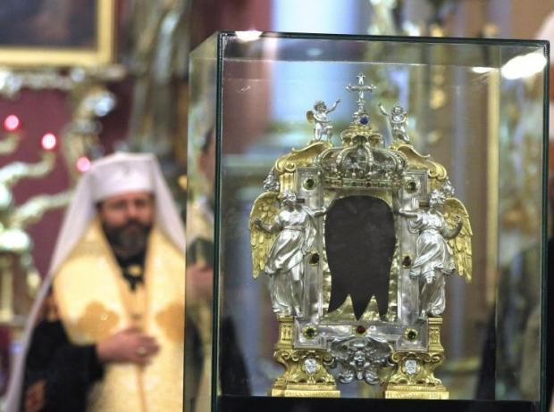 Ікону Спаса Нерукотворного повернули до Ватикану