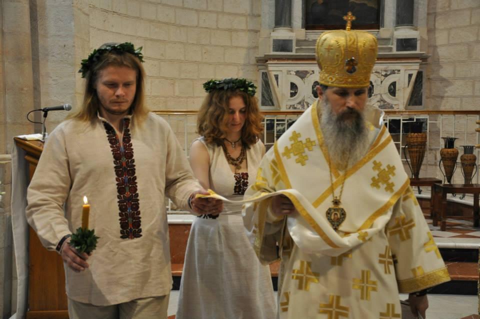 Українське весілля в Кані Галилейській