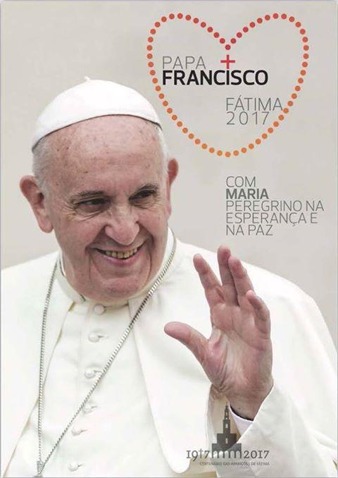 Логотип Папського візиту до Фатіми готовий
