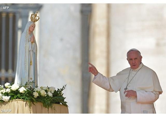 Програма перебування Папи Франциска  у Фатімі