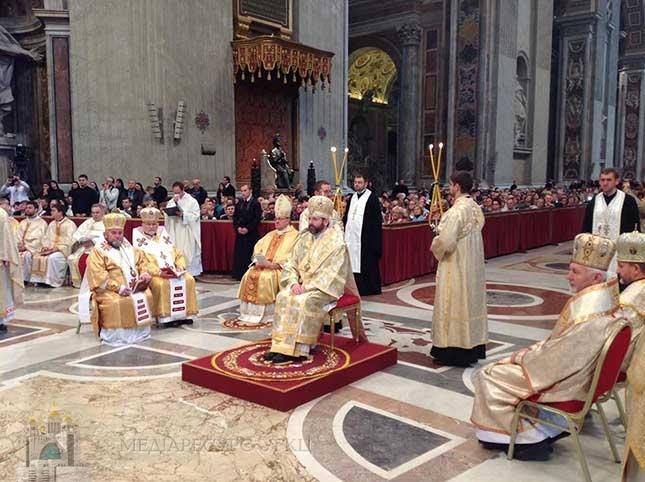 Програма паломництва до Рима з нагоди ювілею 150-річчя канонізації святого Йосафата Кунцевича