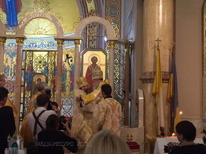 Владика Венедикт (Алексійчук) введений на престол єпархії Святого Миколая УГКЦ у Чикаго