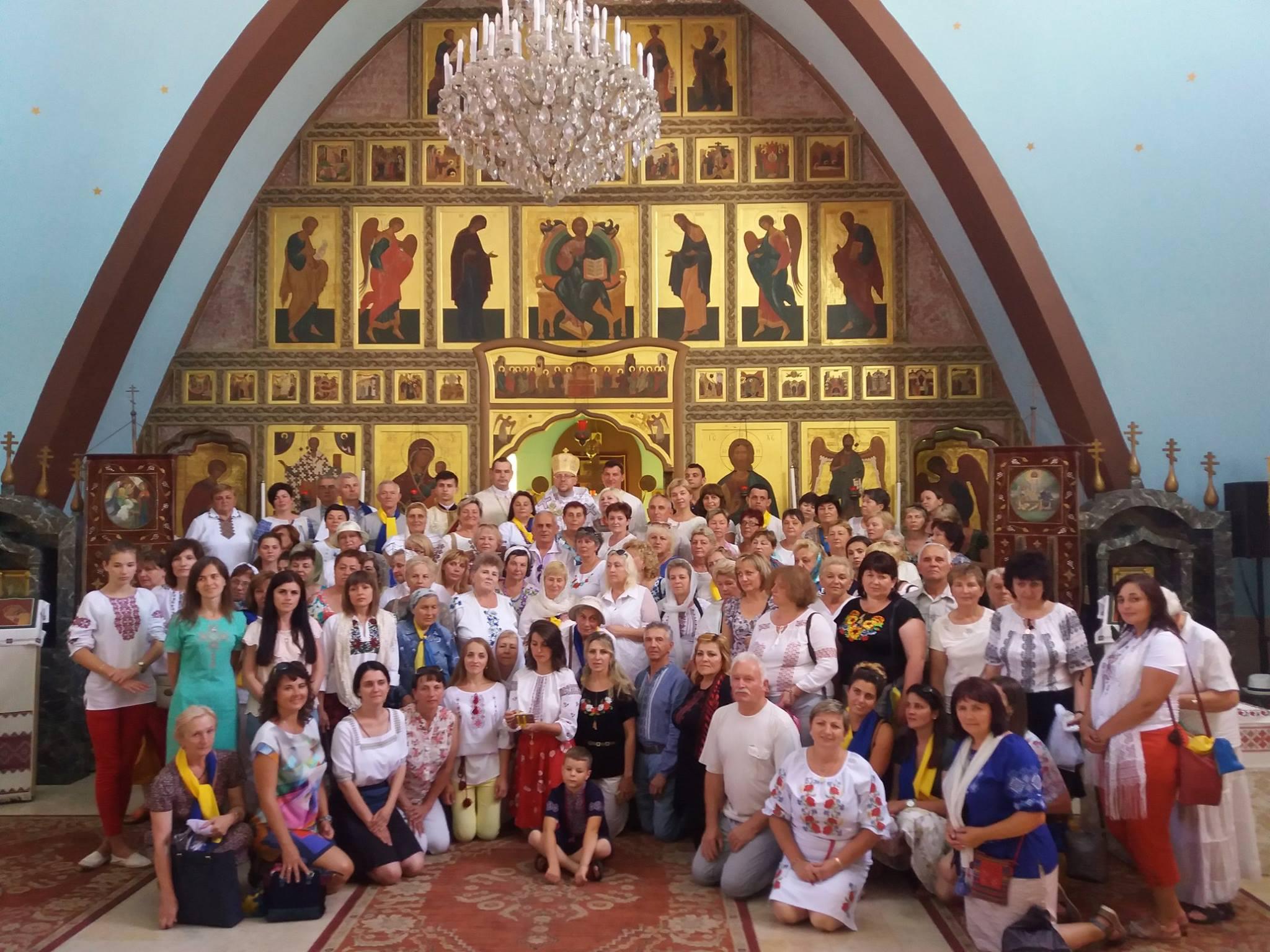 Для українських паломників у Фатімі Божественну Літургію очолив владика Володимир (Груца)