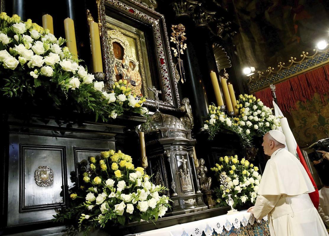 Папа привітав учасників святкувань 300-річчя коронації Ченстоховської Богородиці
