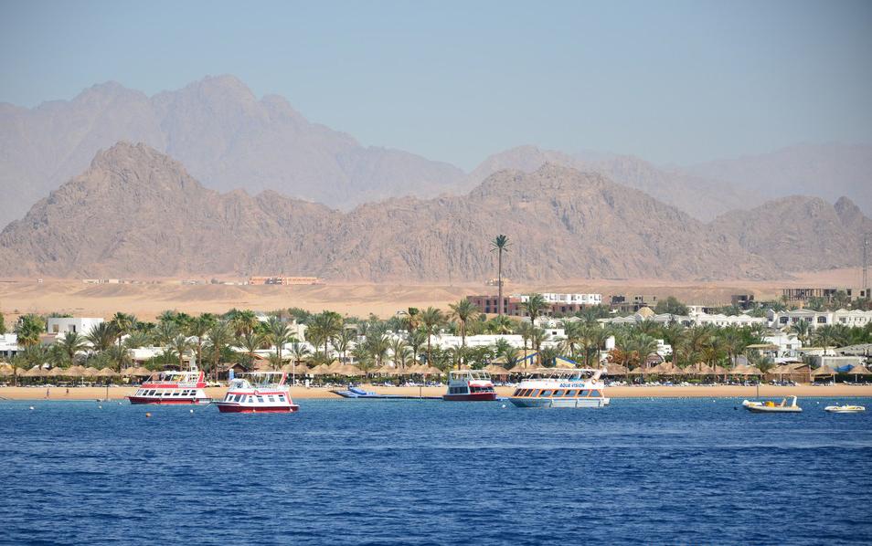 Гора Синай з відпочинком на морі
