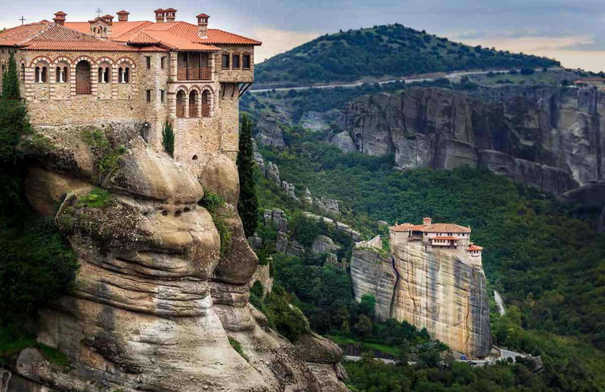 Монастирі Греції, Румунії та Болгарії