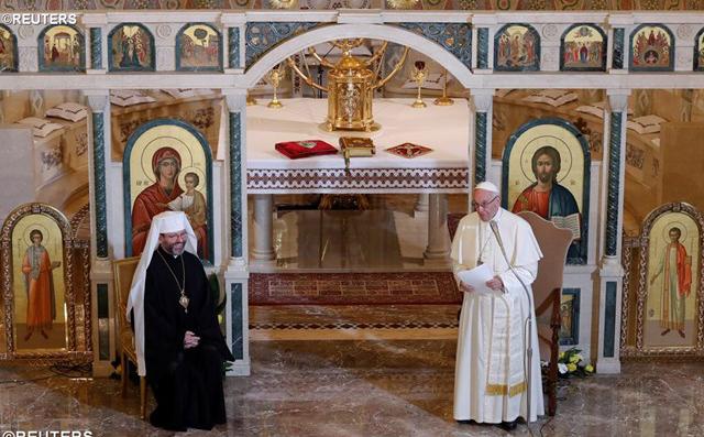 Слово Папи Франциска до українців у Римі