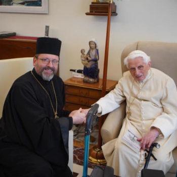 Папа Бенедикт XVI: «Я щоденно молюся за Україну»