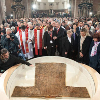 Хітон Ісуса у Трірському соборі